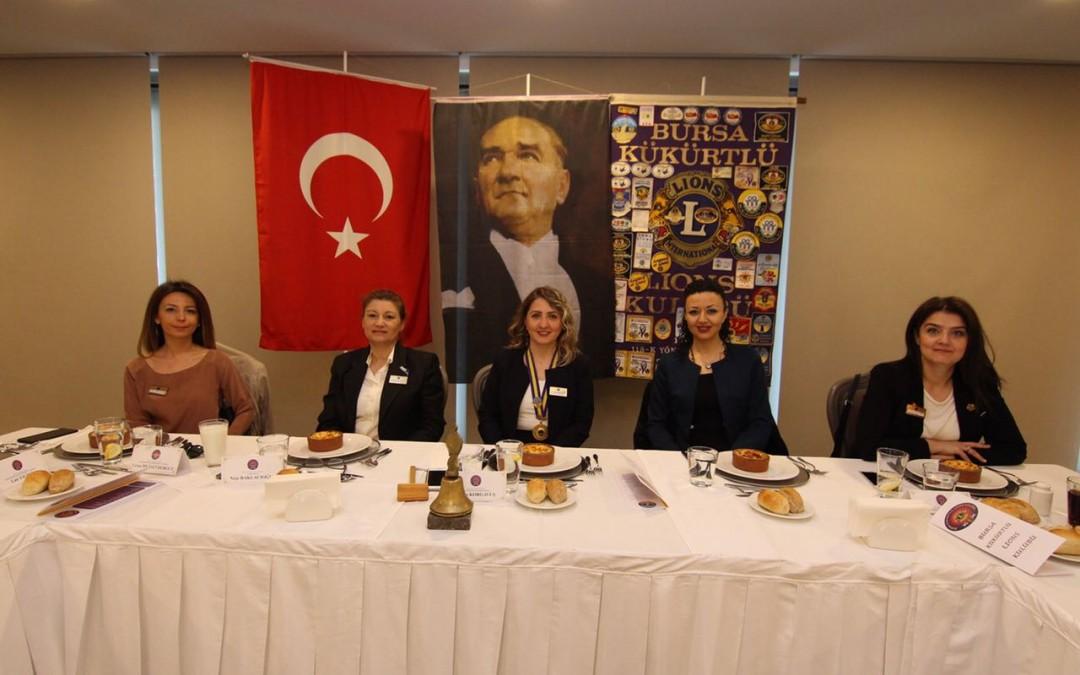 Bursa Kükürtlü Lions kulübü Nisan 2017 toplantısı